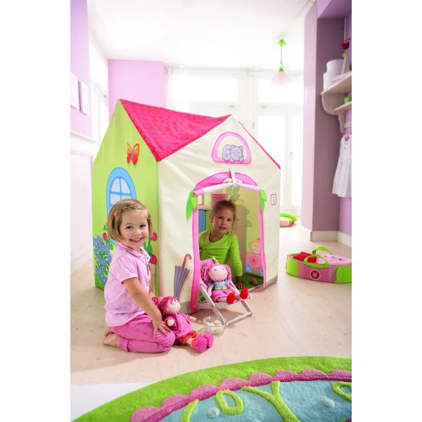 tente de jeu la villa de lilli jeux et jouets haba avenue des jeux. Black Bedroom Furniture Sets. Home Design Ideas