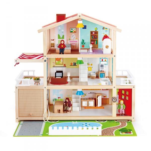 Maisons Jouets Pour Enfants De Magasin Poupées 0PnOX8wk