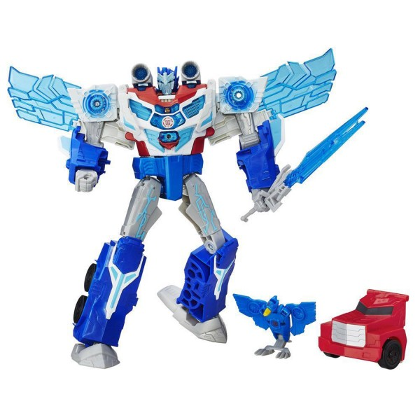 Figurine Transformers Robots in Disguise : Power Surge : Optimus Prime - Hasbro-B7066