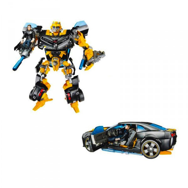 Ensemble de figurines Transformers 3 : Mechtech Human Alliance : Bumblebee et Sam Witwicky - Hasbro-28749