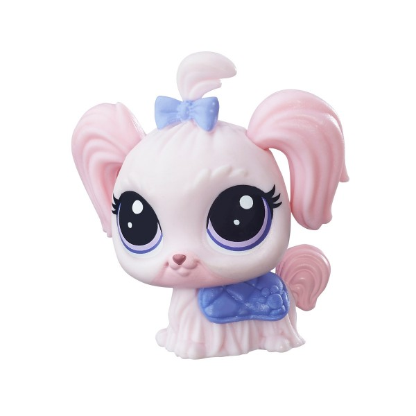 Figurine Petshop single : Lila-Mae Pinktail (#181) - Hasbro-A8229-B7633