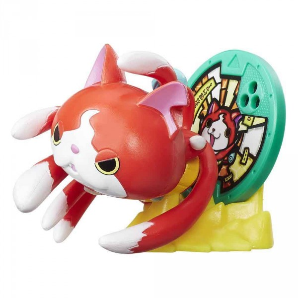 figurine porte m daillon yo kai watch jibanyan jeux et jouets hasbro avenue des jeux. Black Bedroom Furniture Sets. Home Design Ideas