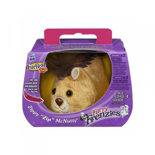 Furry friendzies : Zippy Zip McNutty - Hasbro-20719-21044
