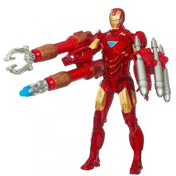 Iron Man Movie 2 - Iron Man pouvoir répulseur électronique - Hasbro-93891-93890