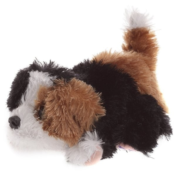 Peluche FurReal Friends Snuggimals : Chien marron, noir et blanc - Hasbro-93717-26696