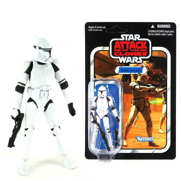Star Wars - The Vintage Collection - Episode II L'attaque des clones : Clone Trooper - Hasbro-97568-28437