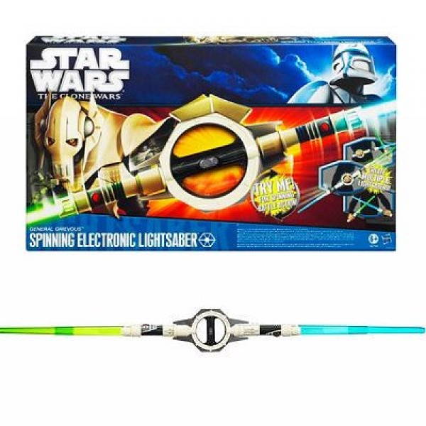 Star Wars - The Clone Wars :  Sabre laser de Grevious - Hasbro-96794