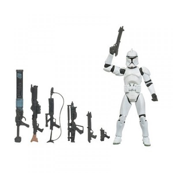 Star Wars - The Legacy Collection : Clone Trooper - Hasbro-87995-89033