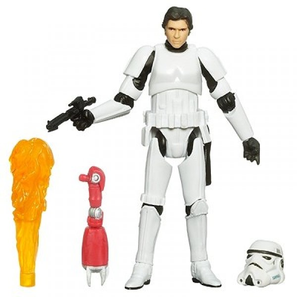Figurine Star Wars : The Legacy Collection : Episode IV : Han Solo stormtrooper et droïde à construi - Hasbro-87535-87835