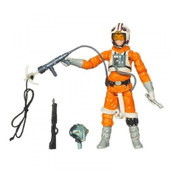Star Wars - The Legacy Collection - Luke Skywalker et droïde à construire - Hasbro-88879-87535