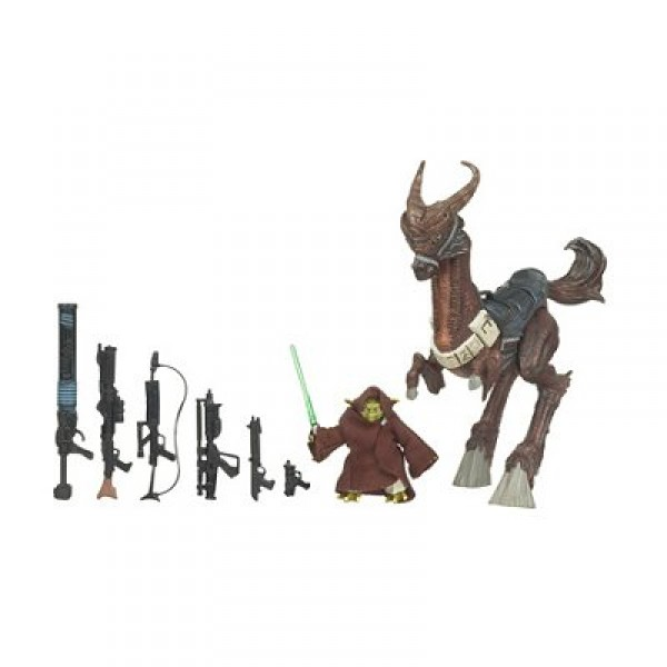 Star Wars - The Legacy Collection - The Clone Wars : Yoda et Kybuck - Hasbro-89025-87995