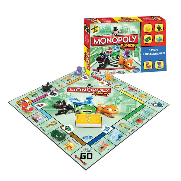 Super Monopoly Junior - Hasbro-A9086