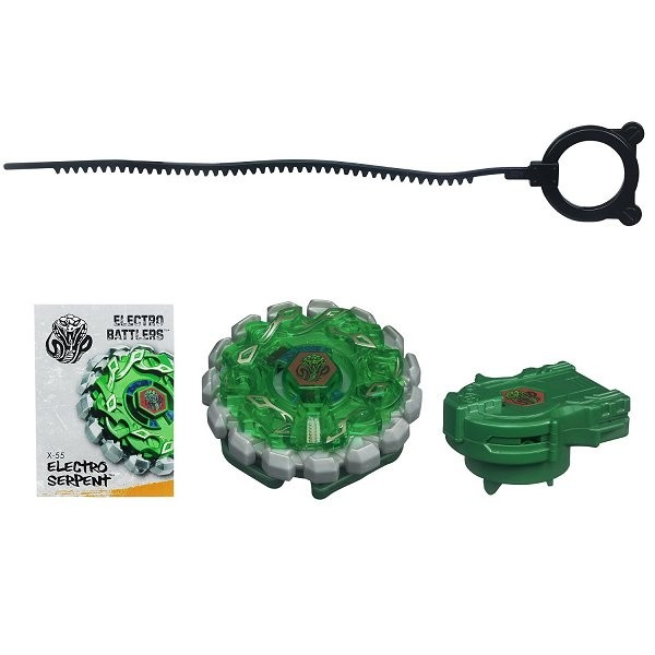 Toupie électronique Beyblade Extreme Top System : Electro Battlers Electro Serpent - Hasbro-31835-31838