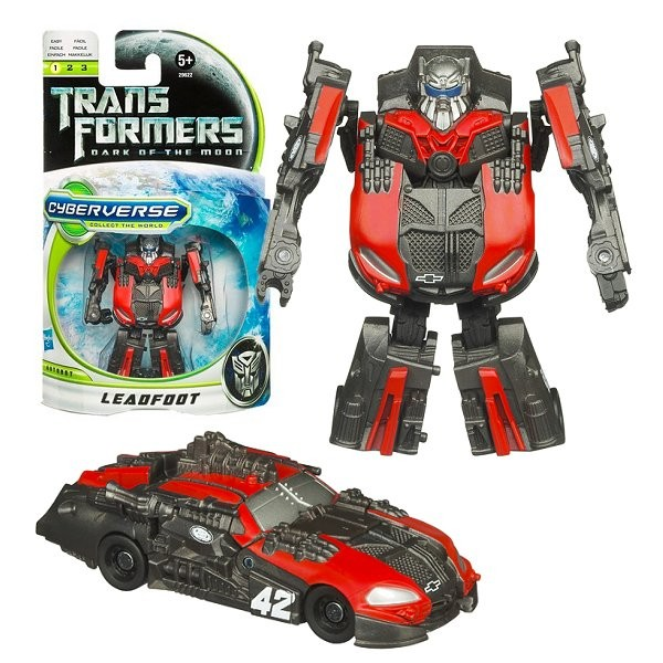 Figurine Transformers Prime : Cyberverse Legion : Leadfoot - Hasbro-28698-29622