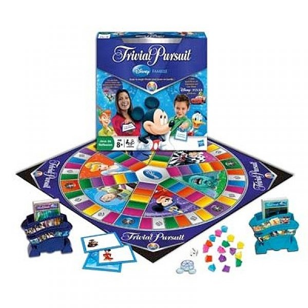 Trivial Pursuit - Disney Famille - Hasbro-01781