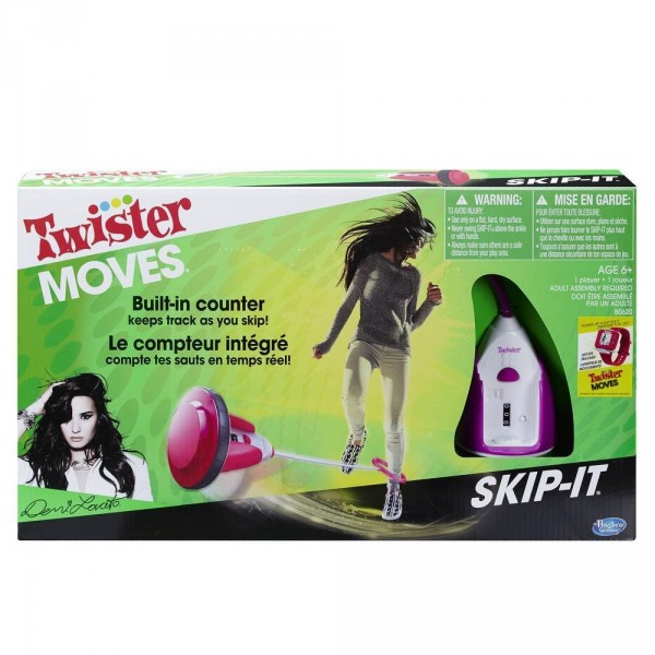 Twister Moves Skip-it - Demi Lovato - Hasbro-B0620