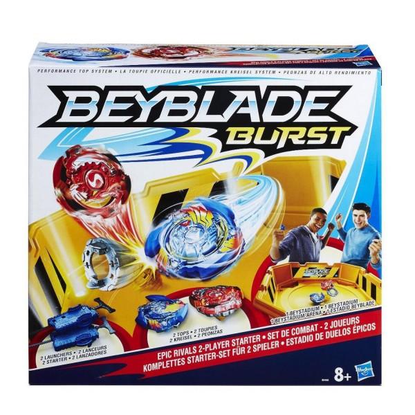 beyblade set de combat 2 joueurs jeux et jouets hasbro avenue des jeux. Black Bedroom Furniture Sets. Home Design Ideas