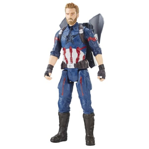 figurine lectronique avengers 30 cm titan hero power fx captain america jeux et jouets. Black Bedroom Furniture Sets. Home Design Ideas