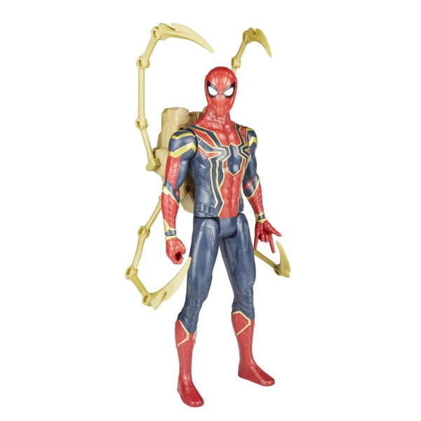 Figurine électronique Avengers 30 cm : Titan Hero Power FX : Iron Spider - Hasbro-E0608
