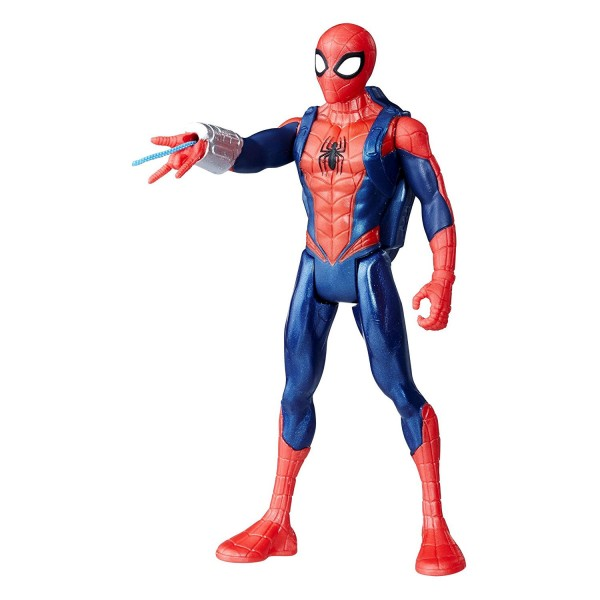 Figurine à fonction Spiderman 15 cm : Spider-Man - Hasbro-E0808-E1099