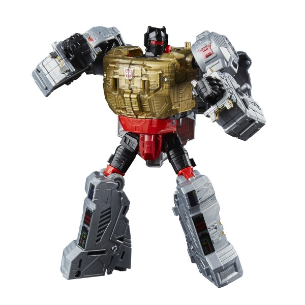Figurine Transformers Generations : Power of the Primes : Voyager Class : Grimlock - Hasbro-E1136