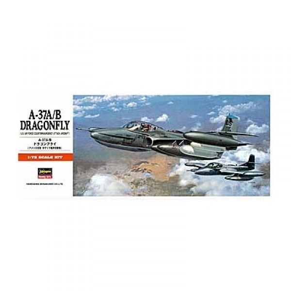 Maquette avion : A-37 A/B Dragonfly - Hasegawa-00142