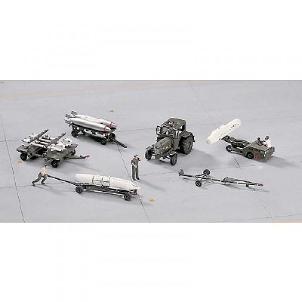 Accessoires militaires : Armement avion 1/72 : US Aircraft Weapon Loading Set - Hasegawa-35005