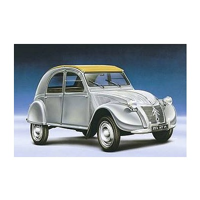 maquette voiture citro n 2 cv heller rue des maquettes. Black Bedroom Furniture Sets. Home Design Ideas