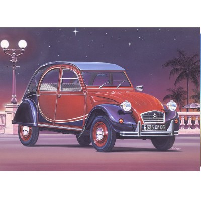 maquette voiture citro n 2cv charleston heller rue des maquettes. Black Bedroom Furniture Sets. Home Design Ideas