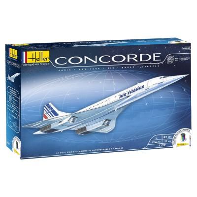 maquette avion concorde heller kit maquette et accessoires coffret cadeau. Black Bedroom Furniture Sets. Home Design Ideas