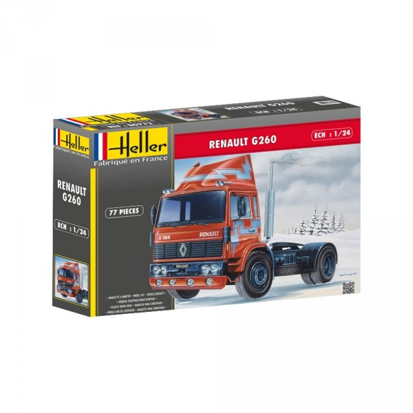 Maquette Camion : Renault G260 - Heller-80772