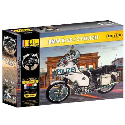 maquette moto kit complet bmw r 60 5 police heller rue des maquettes. Black Bedroom Furniture Sets. Home Design Ideas