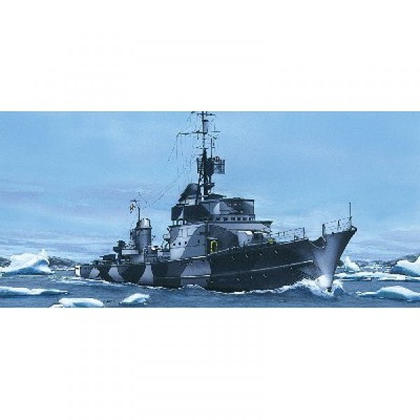 Maquette bateau : Torpedoboot T23 1943 - Heller-81011