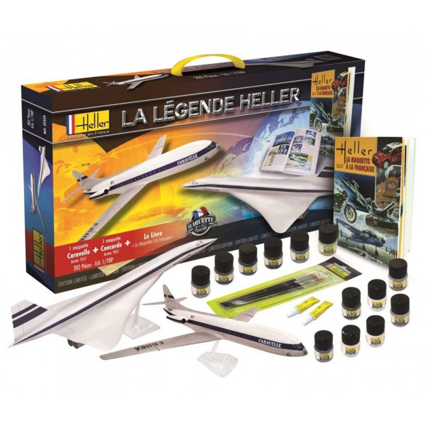 Coffret maquettes aviation : La légende Heller - Heller-52324
