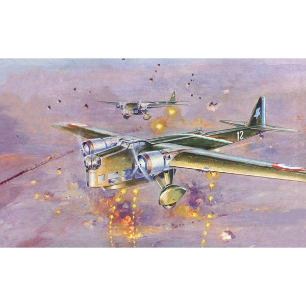 Maquette avion : Amiot 143 - Heller-80390
