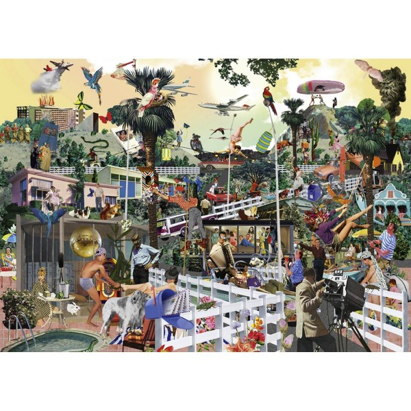 Puzzle 1000 pièces : In the hills - Heye-29863