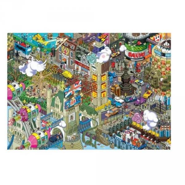 Puzzle 1000 pièces : Pixorama - London Quest - Heye-58207