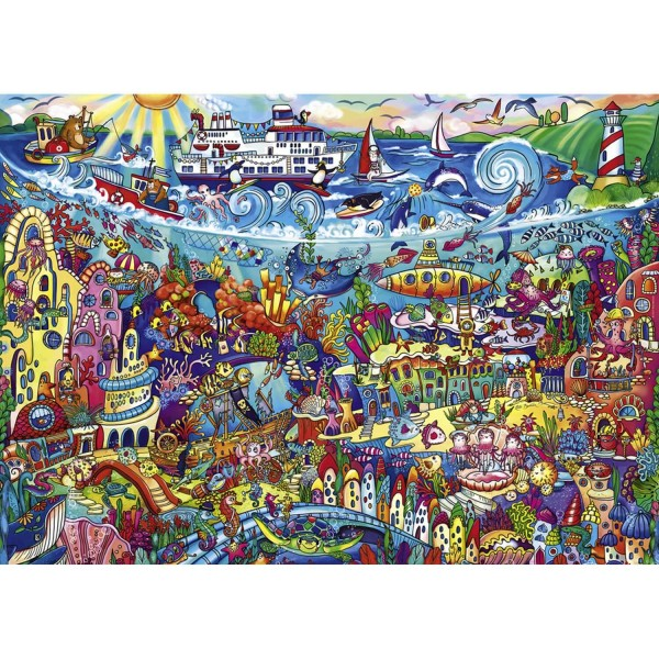 Puzzle 1000 pièces : Magic sea - Heye-29839