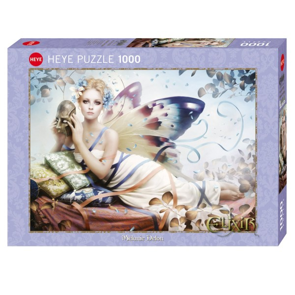 Puzzle 1000 pièces : Behind the mask - Heye-58213