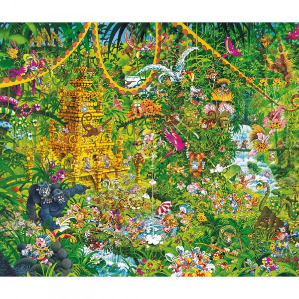 Puzzle 2000 pièces : Deep Jungle, Michael Ryba - Heye-58240