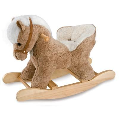cheval bascule avec si ge et effets sonores histoire d 39 ours le lutin rouge. Black Bedroom Furniture Sets. Home Design Ideas