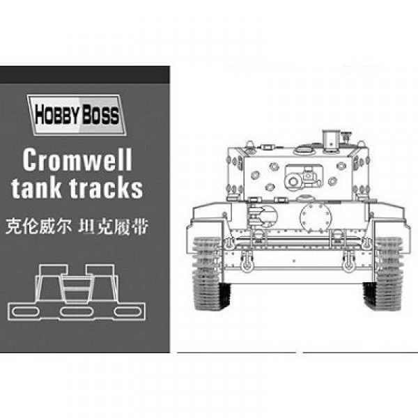 Accessoires militaires : Chenilles pour char Cromwell - Hobbyboss-81004