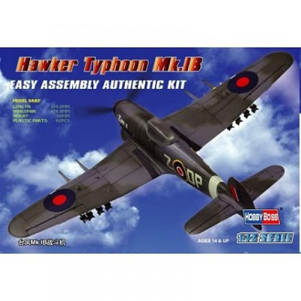 Maquette avion : Hawker Typhoon - Hobbyboss-80232