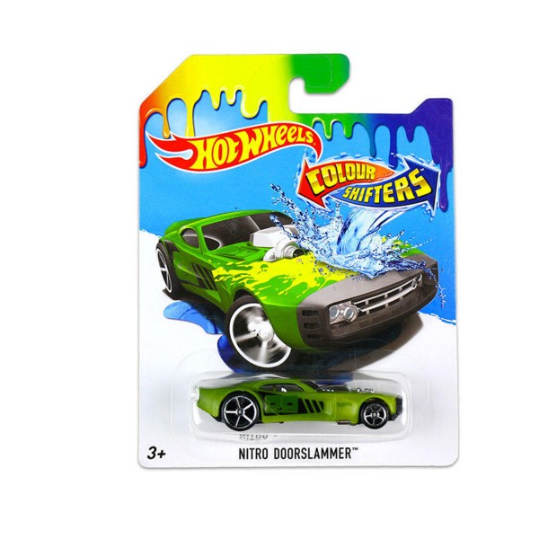 Voiture Hot Wheels : Colour Shifters : Nitro Doorslammer - Mattel-BHR15-DNN10