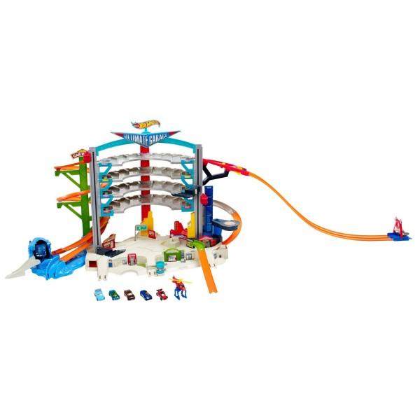circuit de voitures hot wheels megacity parkgarage mattel cmp80 - Voitures Hot Wheels