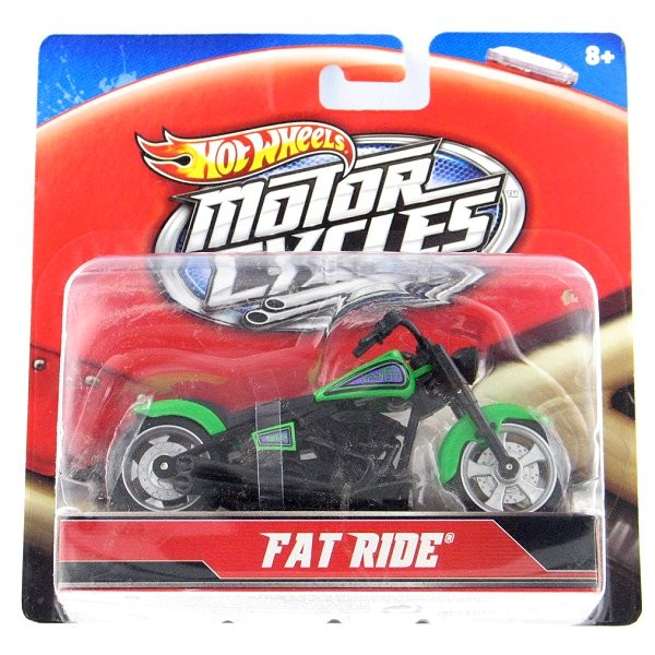 Moto - Hot Wheels - Motorcycles : Fat Ride - Mattel-X4221-X7718
