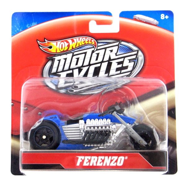 Moto - Hot Wheels - Motorcycles 1/18 : Ferenzo - Mattel-X4221-X7719