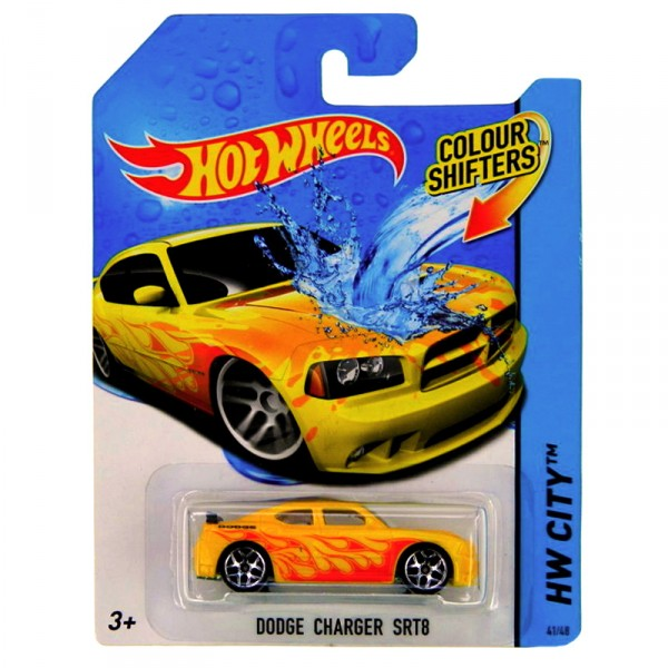 Voiture Hot Wheels : Colour Shifters : Dodge Charger SRT8 - Mattel-BHR15-BHR61