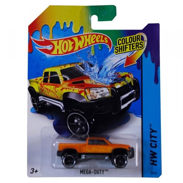 voiture hot wheels colour shifters mega duty jeux et jouets hot wheels avenue des jeux. Black Bedroom Furniture Sets. Home Design Ideas