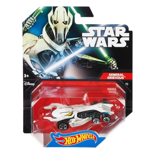 voiture hot wheels star wars general grievous jeux et jouets hot wheels avenue des jeux. Black Bedroom Furniture Sets. Home Design Ideas